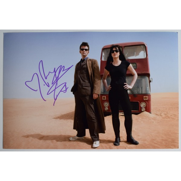 Michelle Ryan SIGNED 12x8 Photo Autograph Dr Who TV  AFTAL  COA Memorabilia PERFECT GIFT