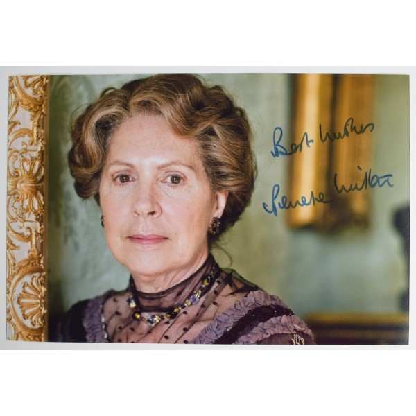 Penelope Wilton SIGNED 12x8 Photo Autograph Downton Abbey TV AFTAL  COA Memorabilia PERFECT GIFT
