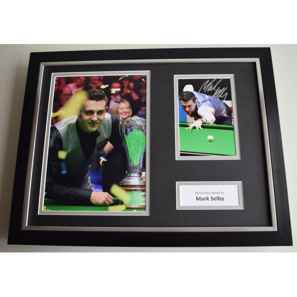 Mark Selby SIGNED FRAMED Photo Autograph 16x12 display Snooker AFTAL & COA Memorabilia PERFECT GIFT