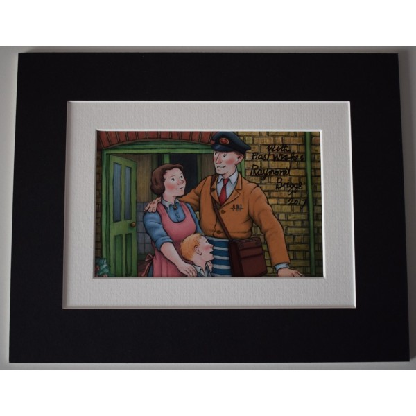 Raymond Briggs Signed Autograph 10x8 photo display TV Ethel & Ernest  AFTAL  COA Memorabilia PERFECT GIFT