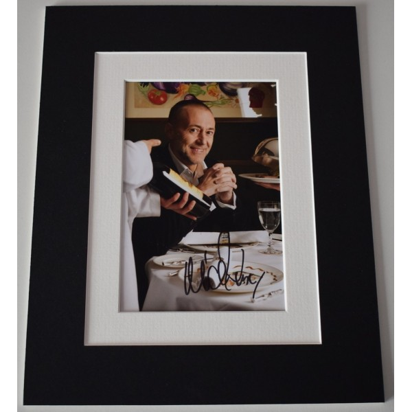 Michel Roux Jr Signed Autograph 10x8 photo display TV Michelin Chef   AFTAL  COA Memorabilia PERFECT GIFT