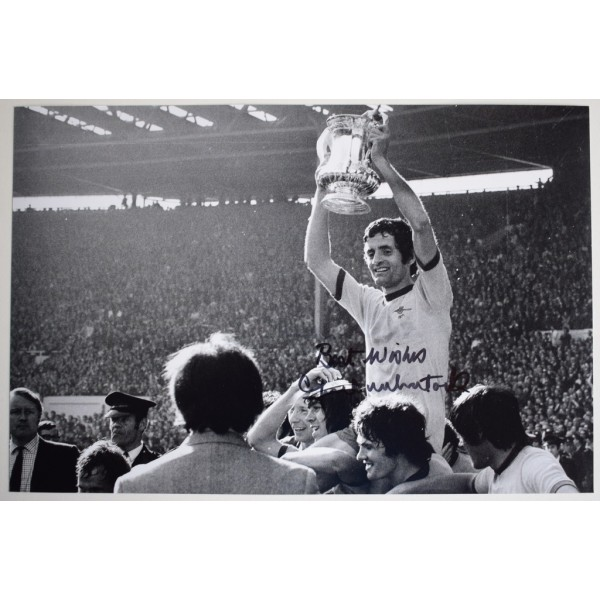 Frank McLintock SIGNED 12x8 Photo Autograph Arsenal Football AFTAL  COA Memorabilia PERFECT GIFT