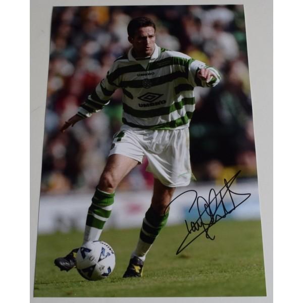 Paul Lambert SIGNED 12x8 Photo Autograph Glasgow Celtic Football  AFTAL  COA Memorabilia PERFECT GIFT