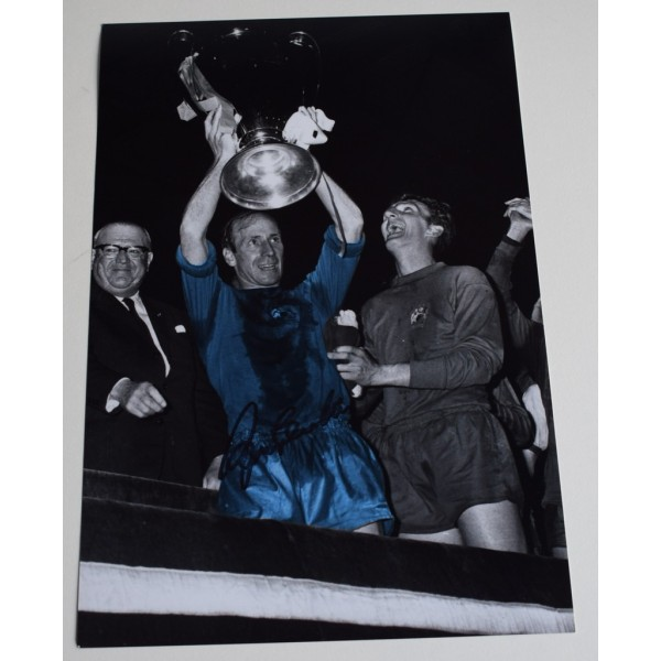 Bobby Charlton SIGNED 12x8 Photo Autograph Manchester United Football AFTAL  COA Memorabilia PERFECT GIFT