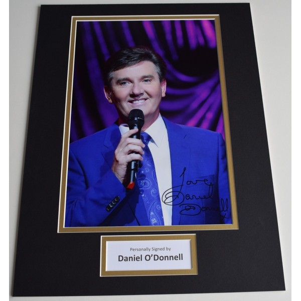 Daniel O'Donnell SIGNED autograph 16x12 photo display Irish Music   AFTAL  COA Memorabilia PERFECT GIFT