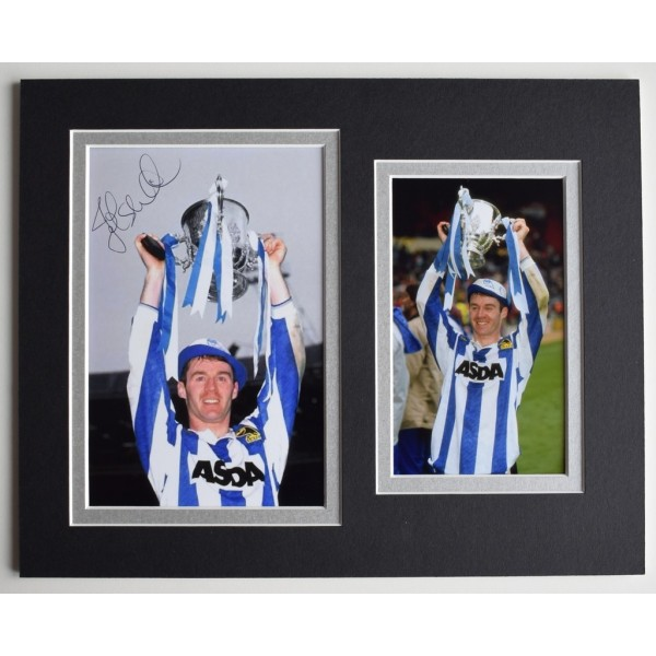 John Sheridan Signed Autograph 10x8 photo display Sheffield Wednesday  AFTAL  COA Memorabilia PERFECT GIFT