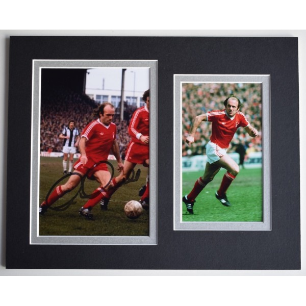 Archie Gemmill Signed Autograph 10x8 photo display Nottingham Forest  AFTAL  COA Memorabilia PERFECT GIFT