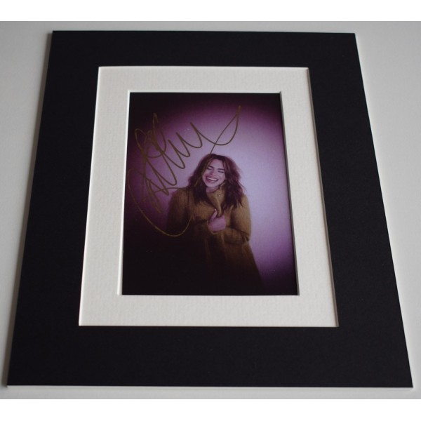 Billie Piper Signed Autograph 10x8 photo display Doctor Who TV AFTAL & COA Memorabilia PERFECT GIFT