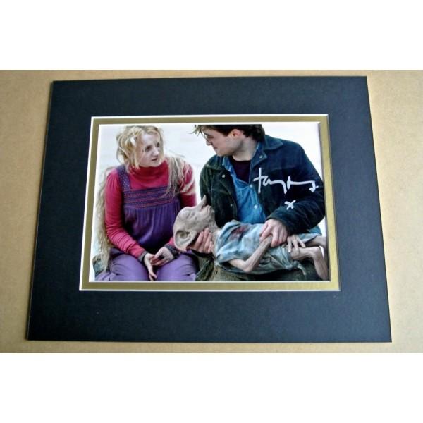 TOBY JONES SIGNED Autograph 10X8 Photo Display Harry Potter Memorabilia & COA AFTAL TV Memorabilia PERFECT GIFT