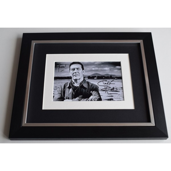 Ciaran Hinds SIGNED 10x8 FRAMED Photo Autograph Display Rome Harry Potter  AFTAL & COA Memorabilia PERFECT GIFT