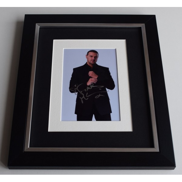 Paddy McGuinness SIGNED 10x8 FRAMED Photo Autograph Display Take Me Out TV  AFTAL & COA Memorabilia PERFECT GIFT