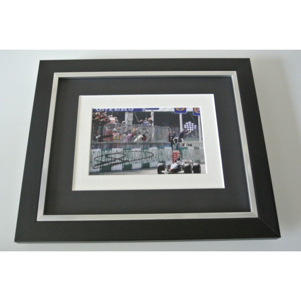 David Coulthard SIGNED 10x8 FRAMED Photo Autograph Display Formula 1 Sport COA    PERFECT GIFT