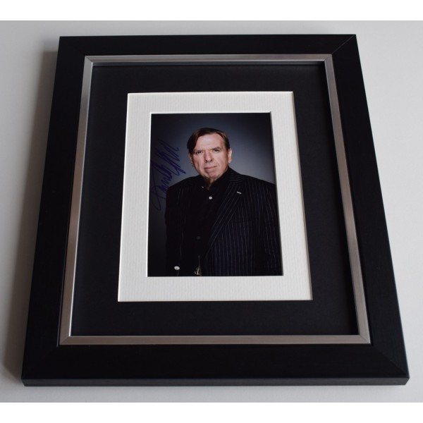 Timothy Spall SIGNED 10x8 FRAMED Photo Autograph Display Harry Potter Film   AFTAL & COA Memorabilia PERFECT GIFT