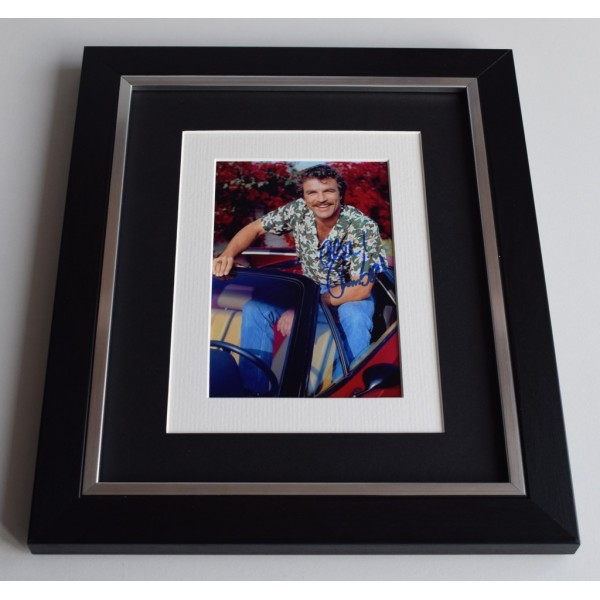 Tom Selleck SIGNED 10x8 FRAMED Photo Autograph Display Magnum TV   AFTAL & COA Memorabilia PERFECT GIFT