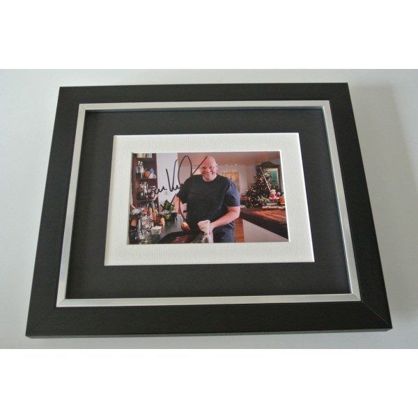 Tom Kerridge SIGNED 10x8 FRAMED Photo Autograph Display Lush Chef TV & COA       PERFECT GIFT