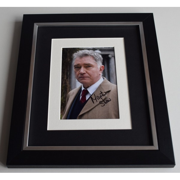 Martin Shaw SIGNED 10x8 FRAMED Photo Autograph Display Inspector George Gently   AFTAL & COA Memorabilia PERFECT GIFT