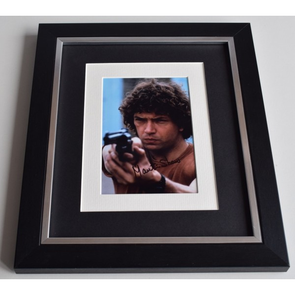 Martin Shaw SIGNED 10x8 FRAMED Photo Autograph Display The Professionals   AFTAL & COA Memorabilia PERFECT GIFT