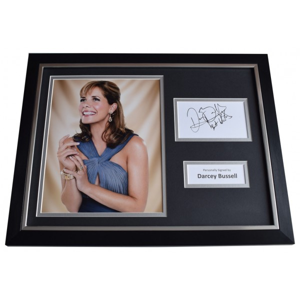 Darcey Bussell Signed FRAMED Photo Autograph 16x12 display Strictly TV  AFTAL  COA Memorabilia PERFECT GIFT