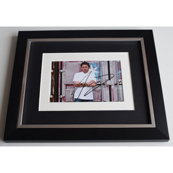James Martin SIGNED 10x8 FRAMED Photo Autograph Display TV Chef   AFTAL & COA Memorabilia PERFECT GIFT
