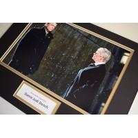 Judi Dench SIGNED autograph 16x12 photo display James Bond Film AFTAL & COA  Memorabilia PERFECT GIFT