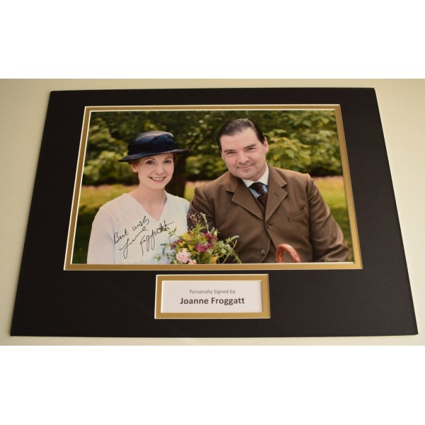 Joanne Froggatt SIGNED autograph 16x12 photo display Downton Abbey AFTAL & COA Memorabilia PERFECT GIFT