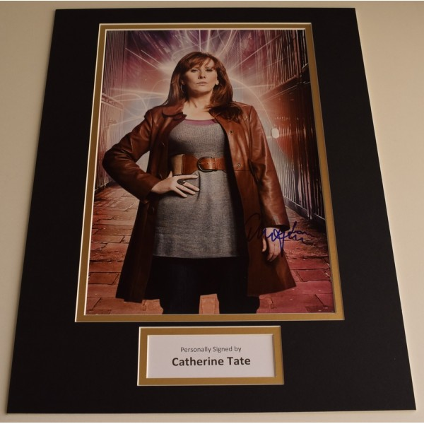 Catherine Tate SIGNED autograph 16x12 photo display Doctor Who  AFTAL & COA Memorabilia PERFECT GIFT