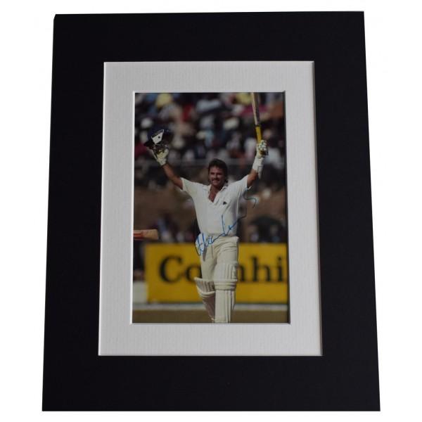 Allan Lamb Signed Autograph 10x8 photo display England Cricket  AFTAL  COA Memorabilia PERFECT GIFT