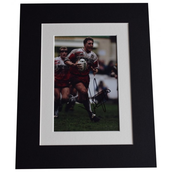 Denis Betts Signed Autograph 10x8 photo display Wigan Rugby Sport    AFTAL  COA Memorabilia PERFECT GIFT