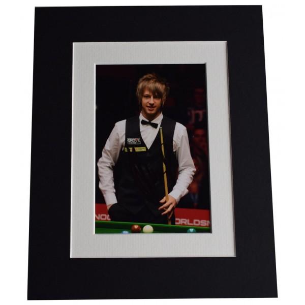 Judd Trump Signed Autograph 10x8 photo display Snooker Sport AFTAL  COA Memorabilia PERFECT GIFT