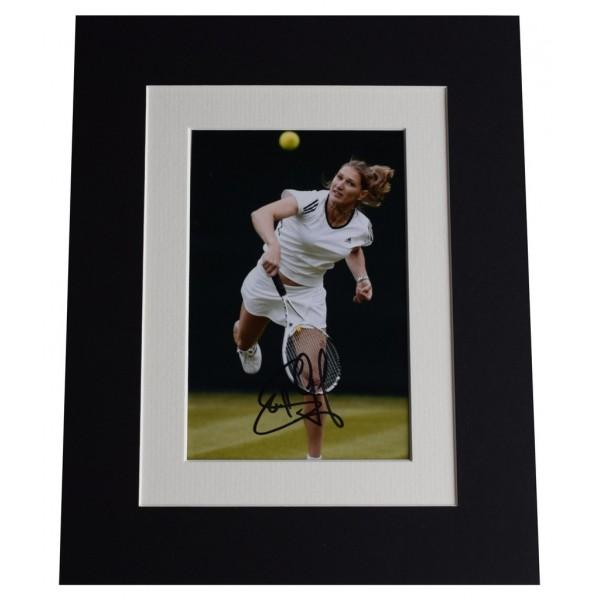Steffi Graf Signed Autograph 10x8 photo display Tennis Champion  AFTAL  COA Memorabilia PERFECT GIFT