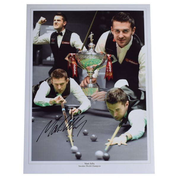 Mark Selby SIGNED autograph 16x12 HUGE photo Snooker AFTAL  COA Memorabilia PERFECT GIFT