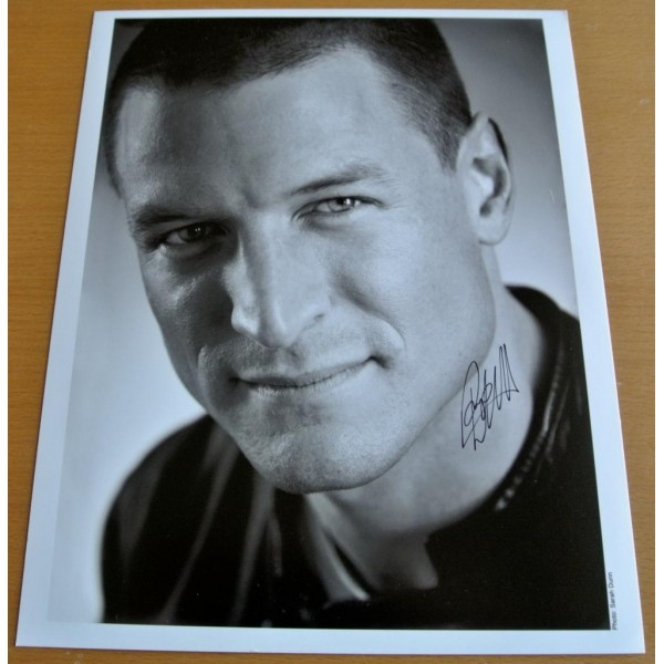 PHILIP WINCHESTER Signed 10X8 Official Photo Autograph STRIKE BACK Actor    AFTAL  COA Memorabilia PERFECT GIFT