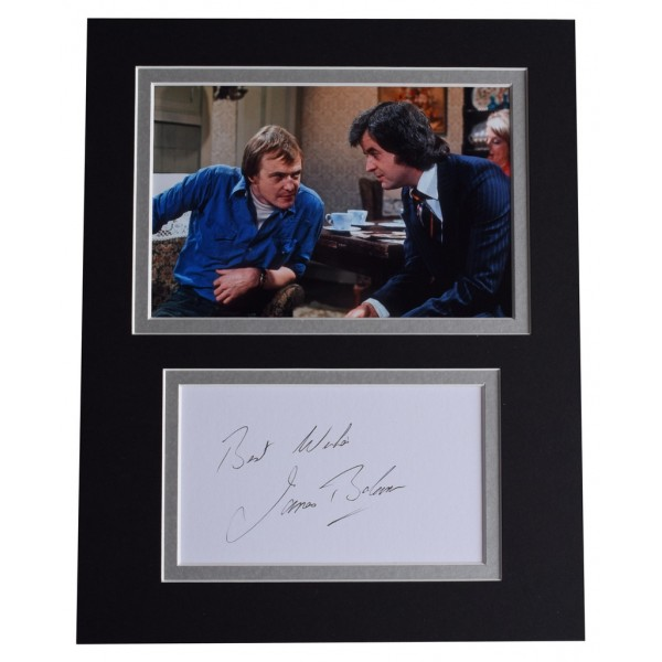 James Bolam Signed Autograph 10x8 photo display TV The Likely Lads  AFTAL  COA Memorabilia PERFECT GIFT