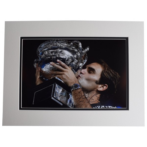 Roger Federer SIGNED autograph 16x12 photo display Tennis Open Sport AFTAL  COA Memorabilia PERFECT GIFT