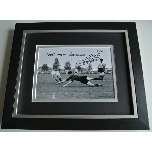 Just Fontaine SIGNED 10X8 FRAMED Photo Autograph Display France Football & COA PERFECT GIFT