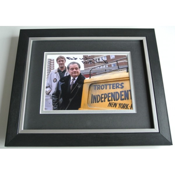 Nicholas Lyndhurst SIGNED 10X8 FRAMED Photo Autograph Display Only Fools TV COA PERFECT GIFT