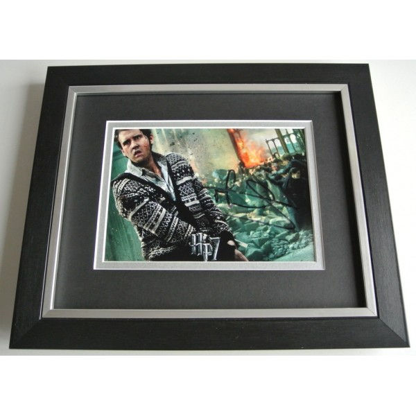 Matthew Lewis SIGNED 10X8 FRAMED Photo Autograph Display Harry Potter Film & COA PERFECT GIFT