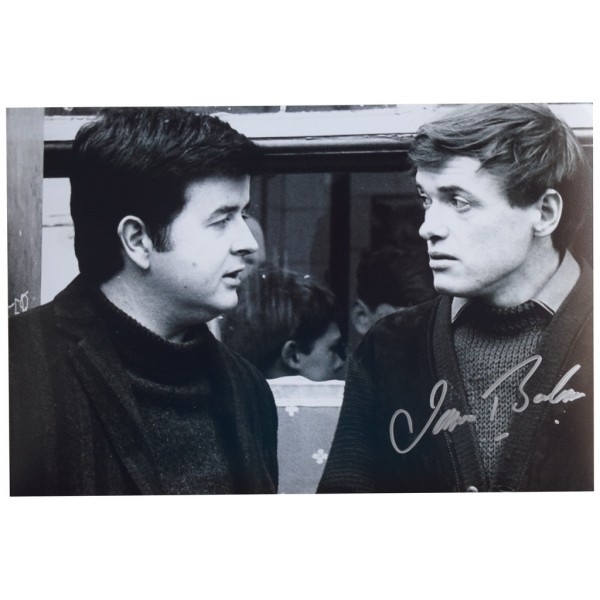 James Bolam SIGNED 12x8 Photo Autograph TV The Likely Lads  AFTAL  COA Memorabilia PERFECT GIFT