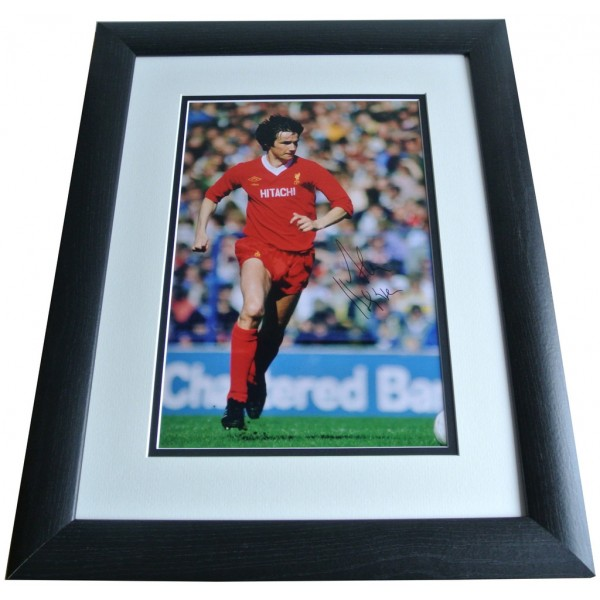 Alan Hansen SIGNED FRAMED Photo Autograph 16x12 LARGE display Liverpool & COA PERFECT GIFT