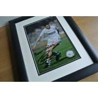 Chris Waddle SIGNED FRAMED Photo Autograph 16x12 Huge display Spurs Football COA PERFECT GIFT
