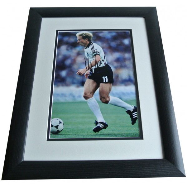Karl Heinz Rummenigge SIGNED FRAMED Photo Autograph 16x12 Huge display & COA PERFECT GIFT