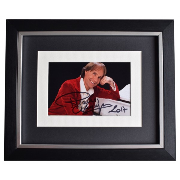 Richard Clayderman SIGNED 10x8 FRAMED Photo Autograph Display Piano Music   AFTAL  COA Memorabilia PERFECT GIFT
