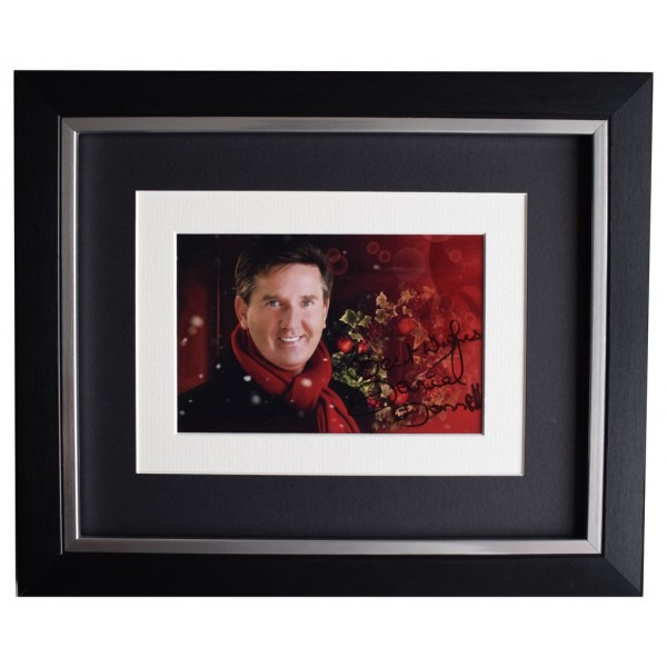 Daniel O'Donnell SIGNED 10x8 FRAMED Photo Autograph Display Irish Music  AFTAL  COA Memorabilia PERFECT GIFT