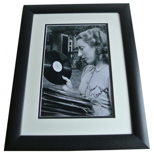 Vera Lynn SIGNED FRAMED Photo Autograph 16x12 LARGE display Music AFTAL & COA  PERFECT GIFT