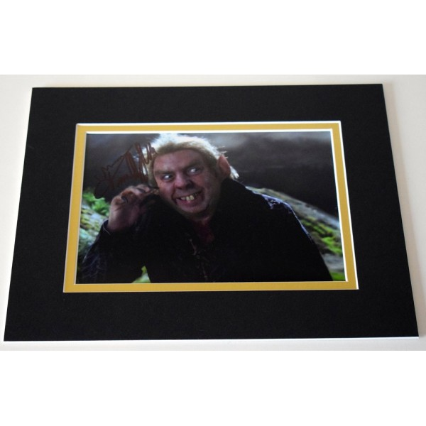 Timothy Spall Signed Autograph 10x8 photo display Harry Potter Film  AFTAL & COA Memorabilia PERFECT GIFT