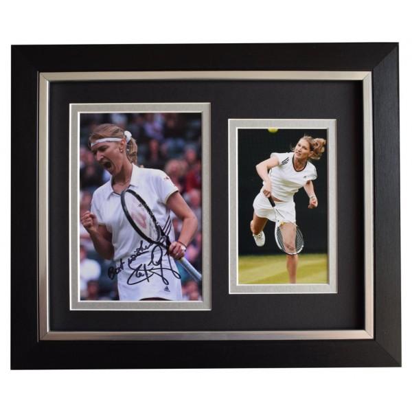 Steffi Graf SIGNED 10x8 FRAMED Photo Autograph Display Tennis Sport AFTAL  COA Memorabilia PERFECT GIFT