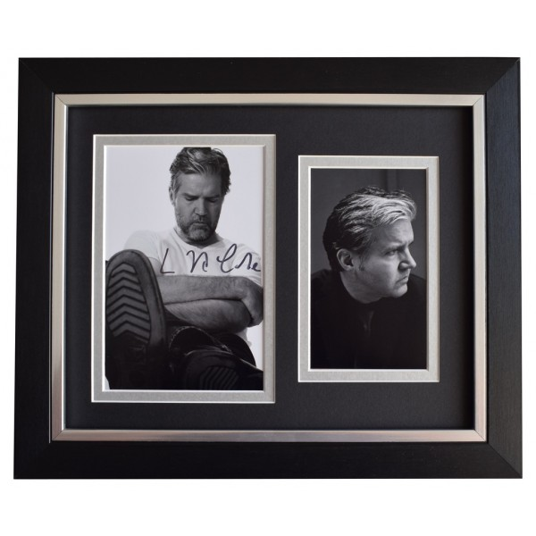 Lloyd Cole SIGNED 10x8 FRAMED Photo Autograph Display Music Commotions  AFTAL  COA Memorabilia PERFECT GIFT