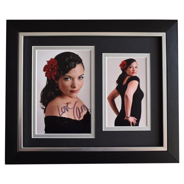 Caro Emerald SIGNED 10x8 FRAMED Photo Autograph Display Music  AFTAL  COA Memorabilia PERFECT GIFT