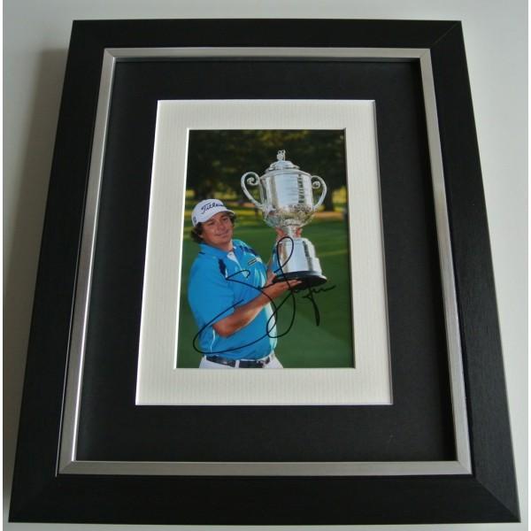 Jason Dufner SIGNED 10x8 FRAMED Photo mount Autograph Display Golf AFTAL & COA      PERFECT GIFT