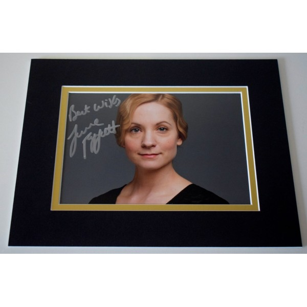 Joanne Froggatt Signed Autograph 10x8 photo display Downton Abbey TV      AFTAL & COA Memorabilia PERFECT GIFT